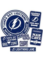 Tampa Bay Lightning Ultimate Fan Set Sign
