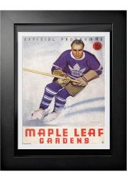 Toronto Maple Leafs Vintage Program Wall Art