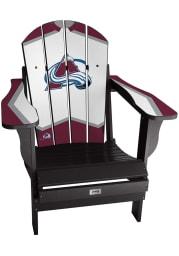 Colorado Avalanche Jersey Adirondack Beach Chairs