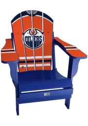 Edmonton Oilers Jersey Adirondack Beach Chairs