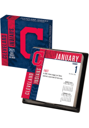 Cleveland Indians 2021 Boxed Daily Calendar