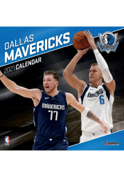 Dallas Mavericks 2021 12x12 Team Wall Calendar