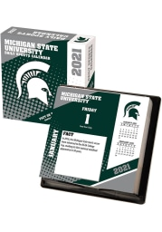 Michigan State Spartans 2021 Boxed Daily Calendar