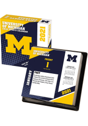Michigan Wolverines 2021 Boxed Daily Calendar