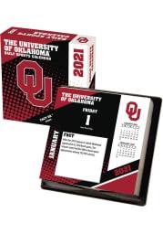 Oklahoma Sooners 2021 Boxed Daily Calendar