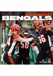 Cincinnati Bengals 2021 12x12 Team Wall Calendar