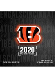 Cincinnati Bengals 2020 Box Calendar