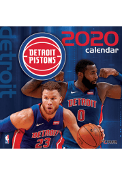 Detroit Pistons 2020 12X12 Team Wall Calendar
