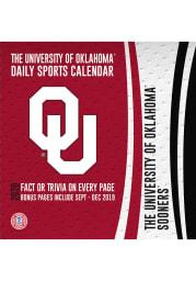 Oklahoma Sooners 2020 Box Calendar