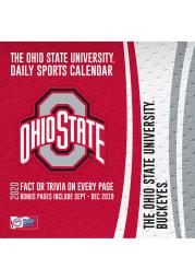 Ohio State Buckeyes 2020 Box Calendar