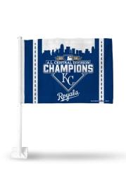 Kansas City Royals 2015 AL Central Champions Car Flag - Blue