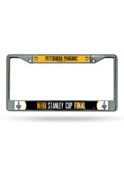 Pittsburgh Penguins 2017 Stanley Cup Finals License Frame