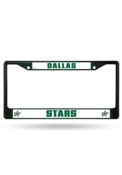 Dallas Stars Colored Chrome License Frame
