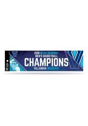 Villanova Wildcats 2018 NCAA Champs Bumper Sticker - Blue