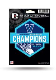 Villanova Wildcats 2018 NCAA Champs Die Cut Auto Decal - Blue