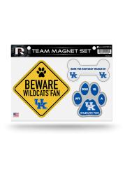 Kentucky Wildcats 3-Piece Pet Themed Pet Magnet