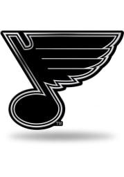 St Louis Blues Molded Car Emblem - Silver