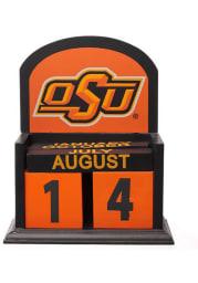 Oklahoma State Cowboys Block Calendar Desk and Office Desk Calendar