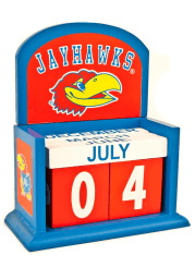 Kansas Jayhawks Block Calendar Desk and Office Desk Calendar