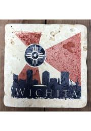 Wichita City Flag 4x4 Coaster