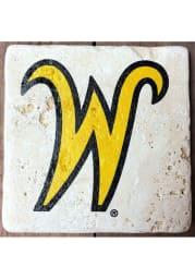 Wichita State Shockers Secondary Logo 4x4 Coaster