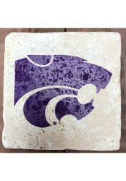 K-State Wildcats Primary Logo 4x4 Coaster