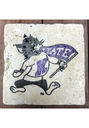 K-State Wildcats Willie 4x4 Coaster