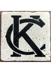 Kansas City Monogram 4x4 Coaster