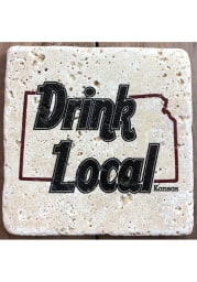 Kansas Drink Local 4x4 Coaster