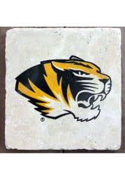 Missouri Tigers Tiger Head Alternate Logo 4x4 Coaster