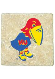 Kansas Jayhawks 1923 Logo 4x4 Coaster