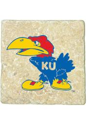 Kansas Jayhawks 1941 Logo 4x4 Coaster