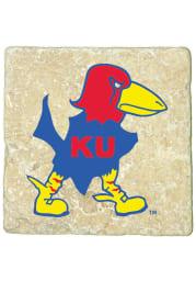Kansas Jayhawks 1929 Logo 4x4 Coaster