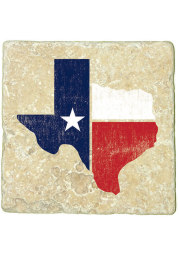 Texas State Shape Flag 4x4 Coaster