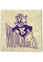 K-State Wildcats 1960 Logo 4x4 Coaster