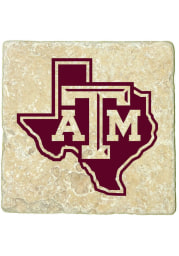 Texas A&M Aggies State of Texas 4x4 Coaster