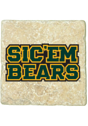 Baylor Bears Sicem Bears 4x4 Coaster