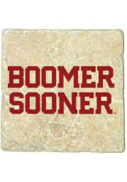 Oklahoma Sooners Boomer Sooner 4x4 Coaster