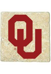 Oklahoma Sooners Logo 4x4 Coaster