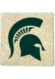 Michigan State Spartans Spartan Logo 4x4 Coaster