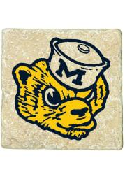 Michigan Wolverines Vault 4x4 Coaster