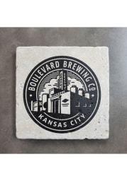 Kansas City Brew Stamp 4x4 Coaster