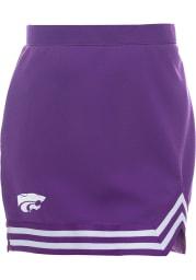 K-State Wildcats Womens Purple Cheer Skirt
