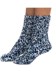 Xavier Musketeers Marled Womens Crew Socks