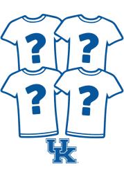 Kentucky Wildcats Womens Surprise T-Shirt 4 Pack