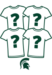 Michigan State Spartans Womens Surprise T-Shirt 4 Pack