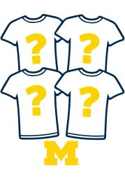 Michigan Wolverines Womens Surprise T-Shirt 4 Pack