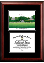 Florida Atlantic Owls Diplomate and Campus Lithograph Picture Frame