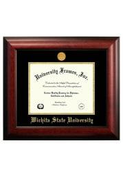 Wichita State Shockers Satin 8 1/2x11 Diploma Picture Frame