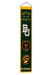 Baylor Bears 8x32 Heritage Banner